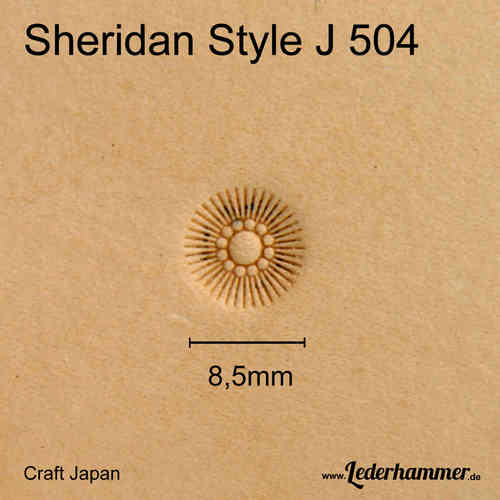 Craft Japan Flower Center Punziereisen Sheridan Style J 565