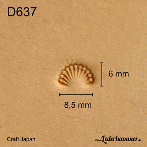 Punziereisen D637 - Border - Craft Japan