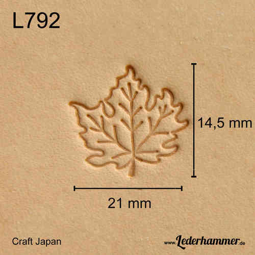 Punziereisen L792 - Leaf - Craft Japan