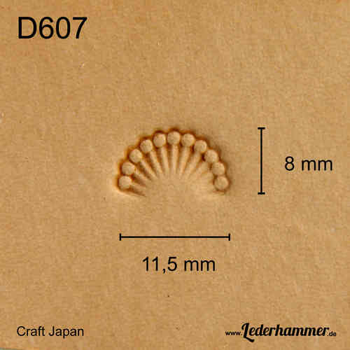 Punziereisen D607 - Border - Craft Japan