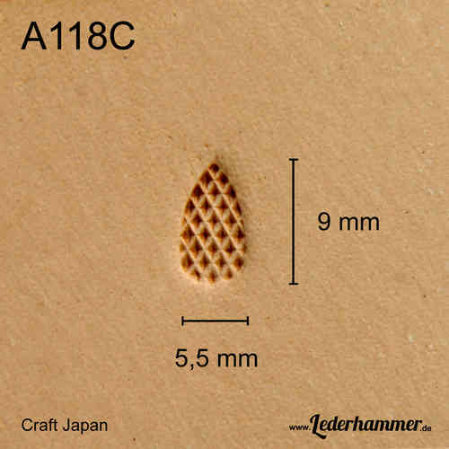 Punziereisen A118C - Background - Craft Japan
