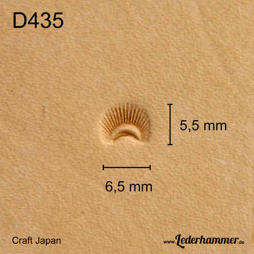 Punziereisen D435 - Border - Craft Japan