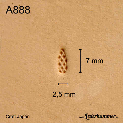 Punziereisen A888 - Background - Craft Japan