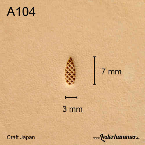 Punziereisen A104 - Background - Craft Japan