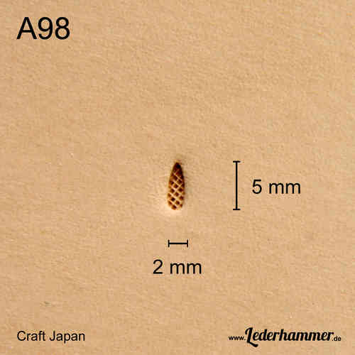 Punziereisen A98 - Background - Craft Japan