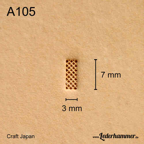 Punziereisen A105 - Background - Craft Japan