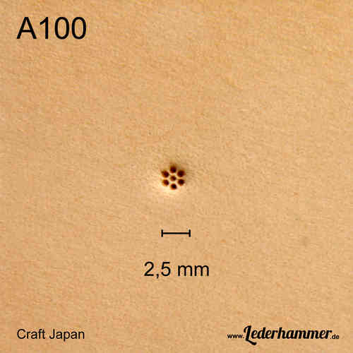 Punziereisen A100 - Background - Craft Japan